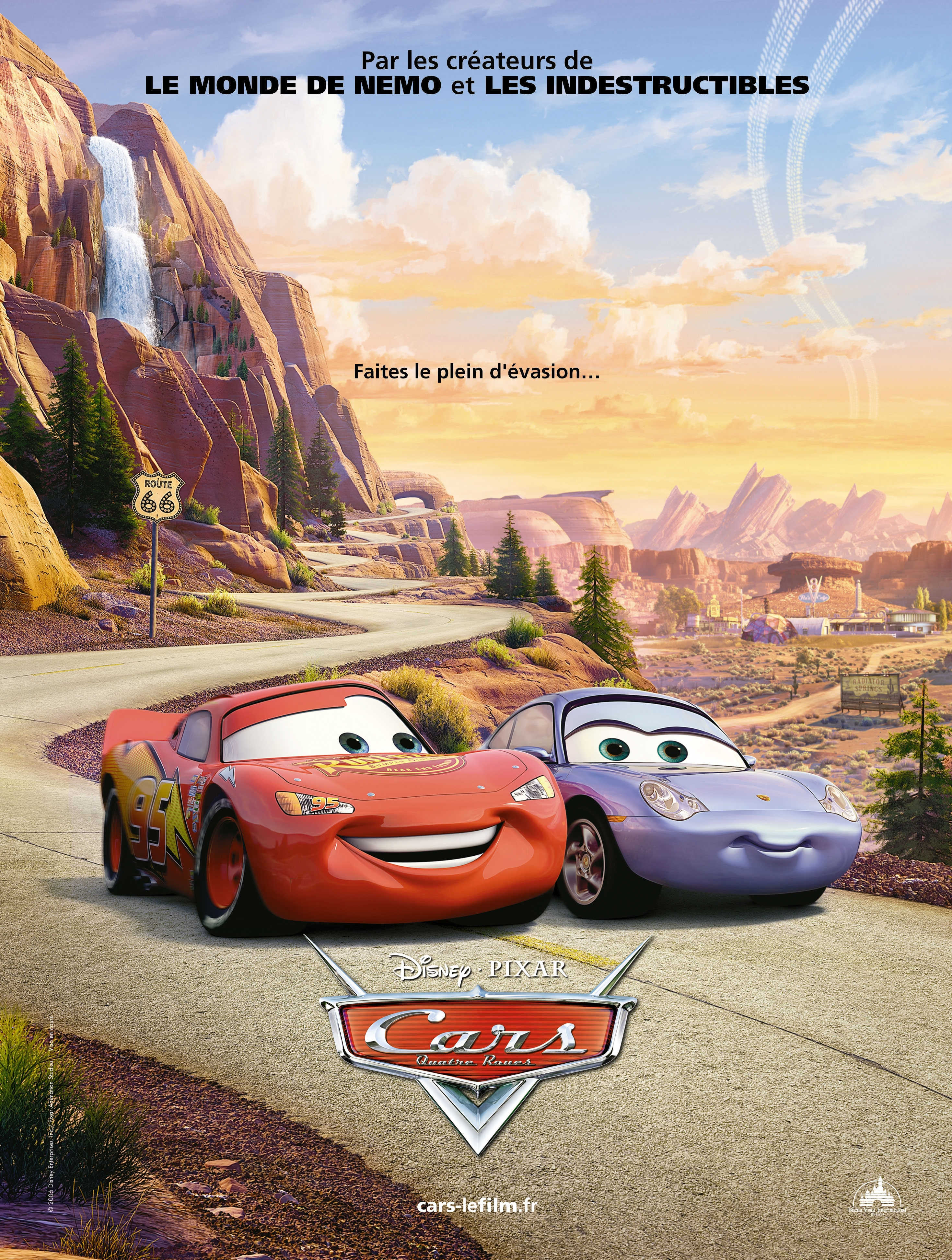 New French Cars Poster • Upcoming Pixar